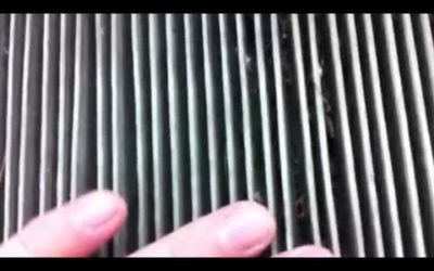 Cabin Air Filter Part One
